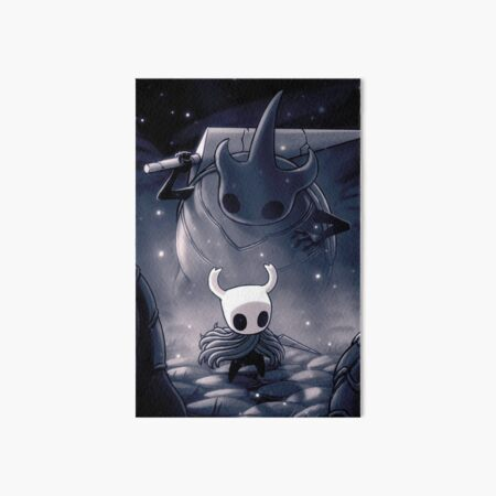 hollow  Knight Inspired Painting -   Art Board Print
