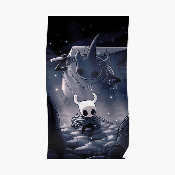 hollow  Knight Inspired Painting -   Poster