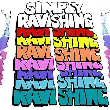 Replica Rick Rude Leggings (Simply Ravishing) by SoCalKid