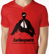 Hollowpoint - moving on Men's V-Neck T-Shirt