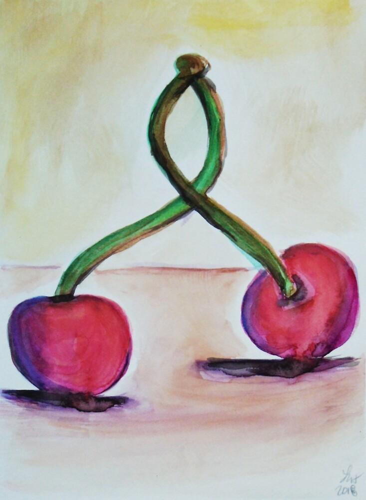 Cherries by Loretta Nash