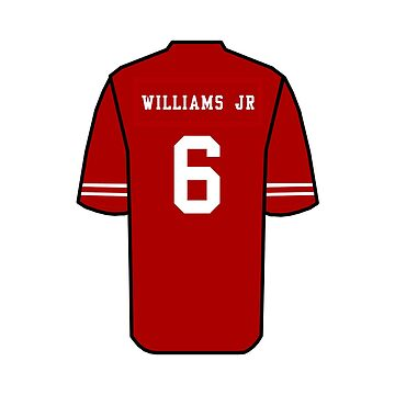 Terrell Williams Jr Jersey by Kate832
