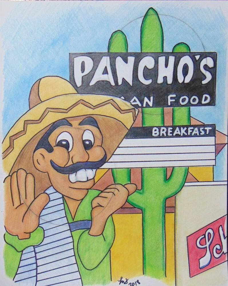 Fan Art-Poncho's by Loretta Nash