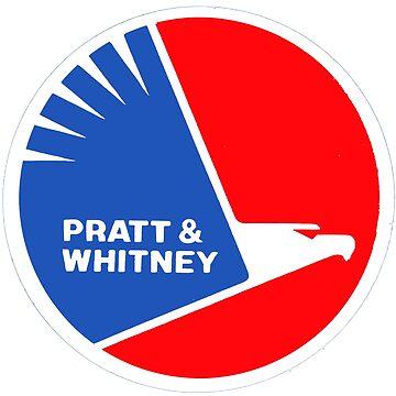 Pratt and Whitney USA by midcenturydave
