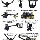 Uses of the Hoolock Gibbon's Really Long Arms by rohanchak