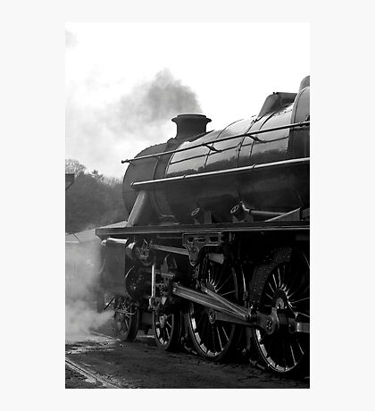 Getting Steam Up Photographic Print
