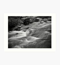 Soothing Stream Art Print