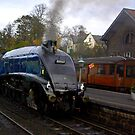 Sir Nigel Gresley - Grosmont by Trevor Kersley
