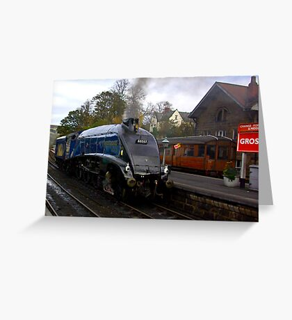 Sir Nigel Gresley - Grosmont Greeting Card
