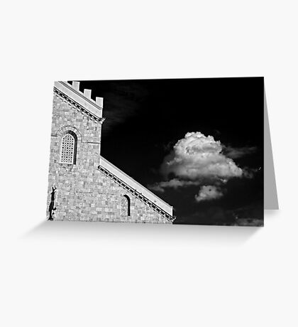 Cathedral & Cloud Greeting Card