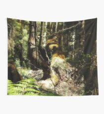 Dont wake the pixies in the forest Wall Tapestry