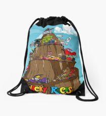 Wacky Races Drawstring Bag