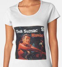 Yma Sumac, Mambo, Exotic, Exotica, Latin, 50's, Lounge Premium Scoop T-Shirt