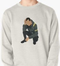levitate | tyler - crouching Pullover