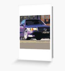 Koenig Specials Mercedes Greeting Card