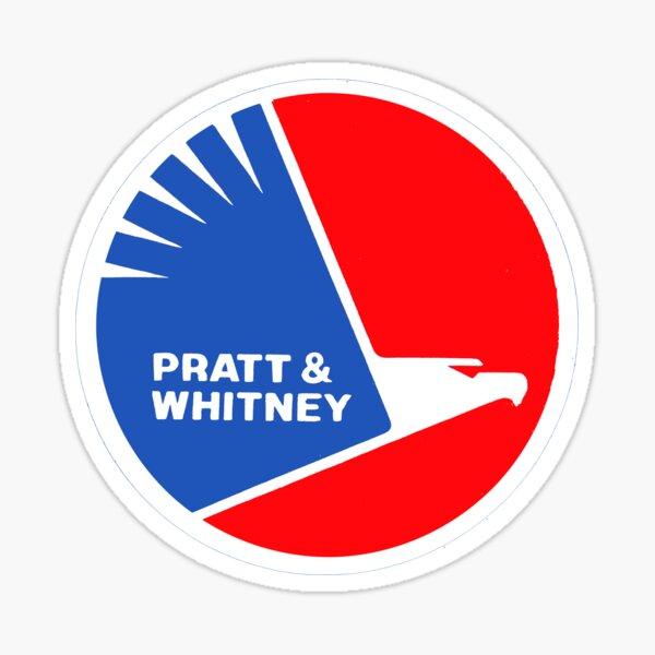 Pratt and Whitney Sticker
