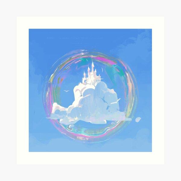 Cloud Castle Art Print