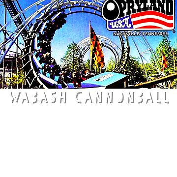WABASH cannonball opryland USA tee by TimShane