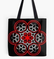 Red and White Design 2 Tote Bag