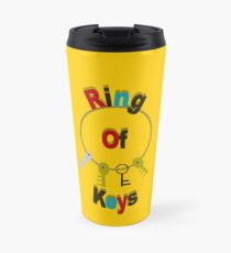 Ring Of Keys Fun Home Travel Mug