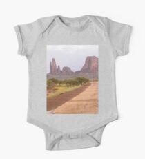 a desolate Mali landscape Kids Clothes