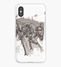 Wasp Machine iPhone Case