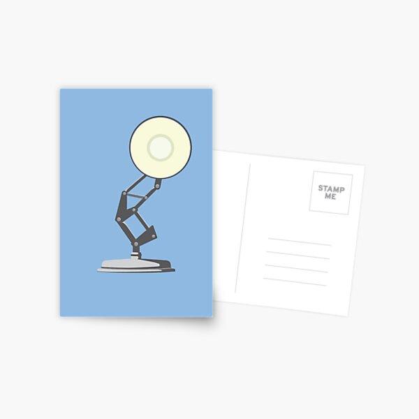 Vintage Lamp Postcard