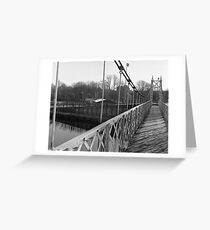 Just Another Shot Of The Shakey Bridge Greeting Card