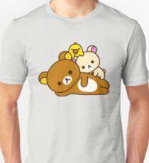 Rilakkuma und Freunde Slim Fit T-Shirt