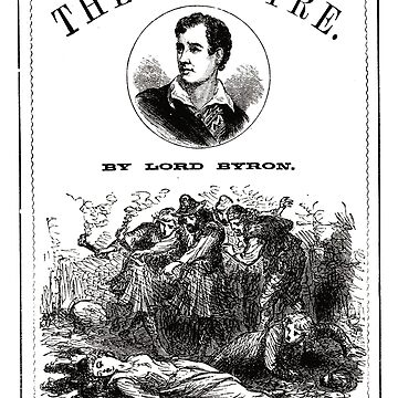 The Vampyre Lord Byron Poster by buythebook86