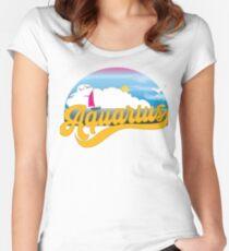 NEUES Holly-Wassermann-T-Shirt Tailliertes Rundhals-Shirt