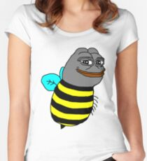 Pepe the bee Women's Fitted Scoop T-Shirt