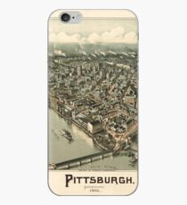 Panoramic Maps Pittsburgh Pennsylvania 1902 iPhone-Hülle & Cover