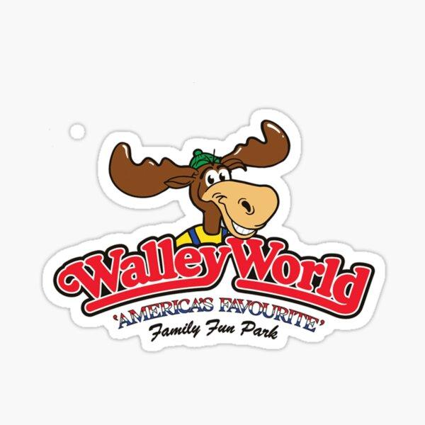 Wally World Logo Sticker