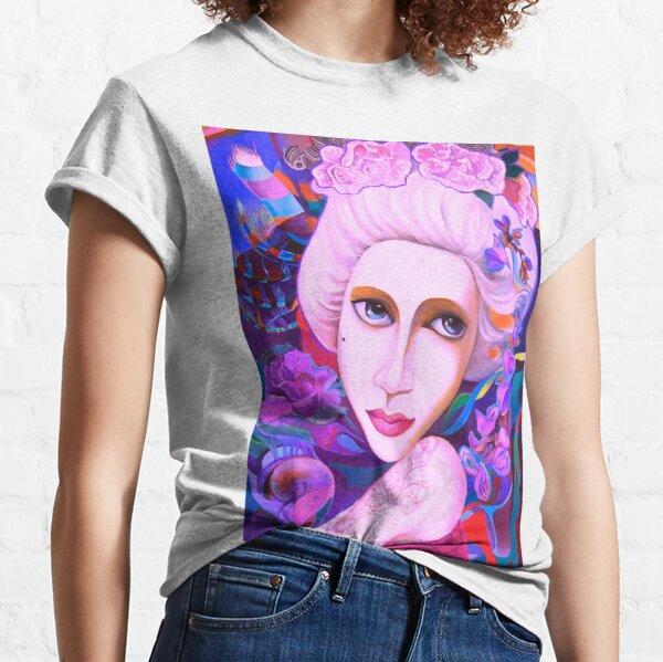 "Lady with ""Mushka"" Classic T-Shirt"