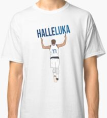 Luka Doncic 'Halleluka' - Dallas Mavericks Classic T-Shirt