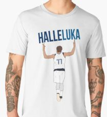 Luka Doncic 'Halleluka' - Dallas Mavericks Men's Premium T-Shirt