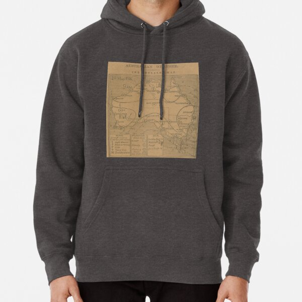 Australian Weather Map 2  May 1916 Pullover Hoodie