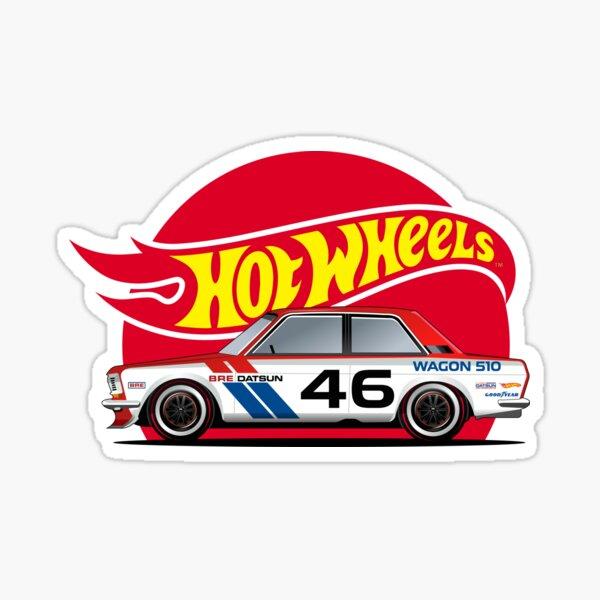 Hot Wheels Datsun Sticker