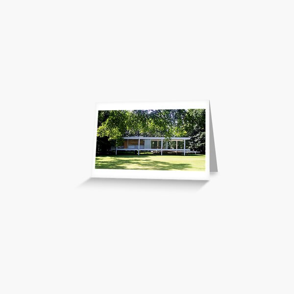 Mies van der Rohe Farnsworth House Greeting Card
