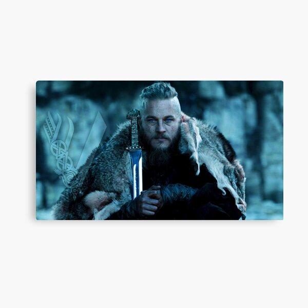 Ragnar Lothbrok viking Canvas Print