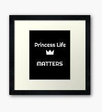 Princess gift Framed Print