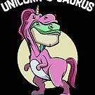 Unicorn o saurus, Unicorn by NadjaDesigns