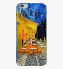Vinilo o funda para iPhone Cafe Terrace at Night iPhone, Samsung o Galaxy Funda