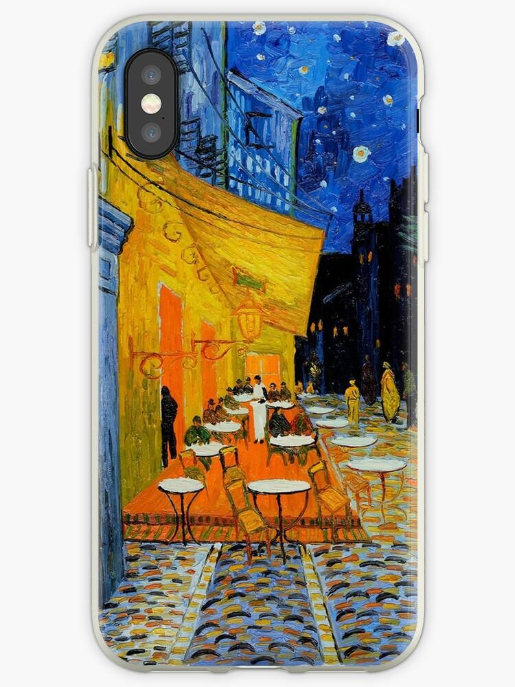 «Terraza del café en el caso del iphone de la noche» de NewNomads