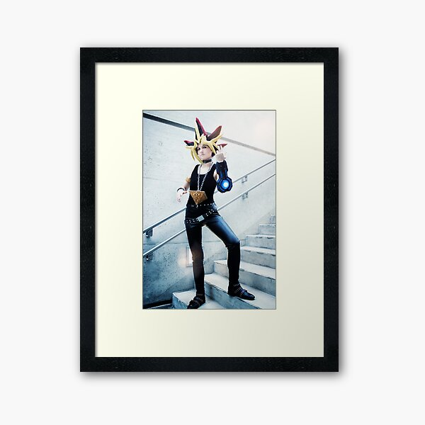 Yami Yugi - It's time to duel Framed Art Print