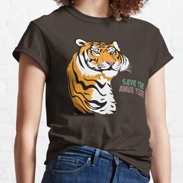 Save the Amur Tiger Classic T-Shirt