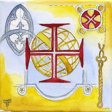 quinta da regaleira. Ordem de Cristo by terezadelpilar