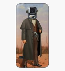 Slim Grant - Cigarette Card (RDR2) Case/Skin for Samsung Galaxy