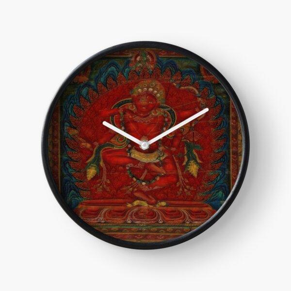 Kurukulla - Tibetan Buddhism Clock